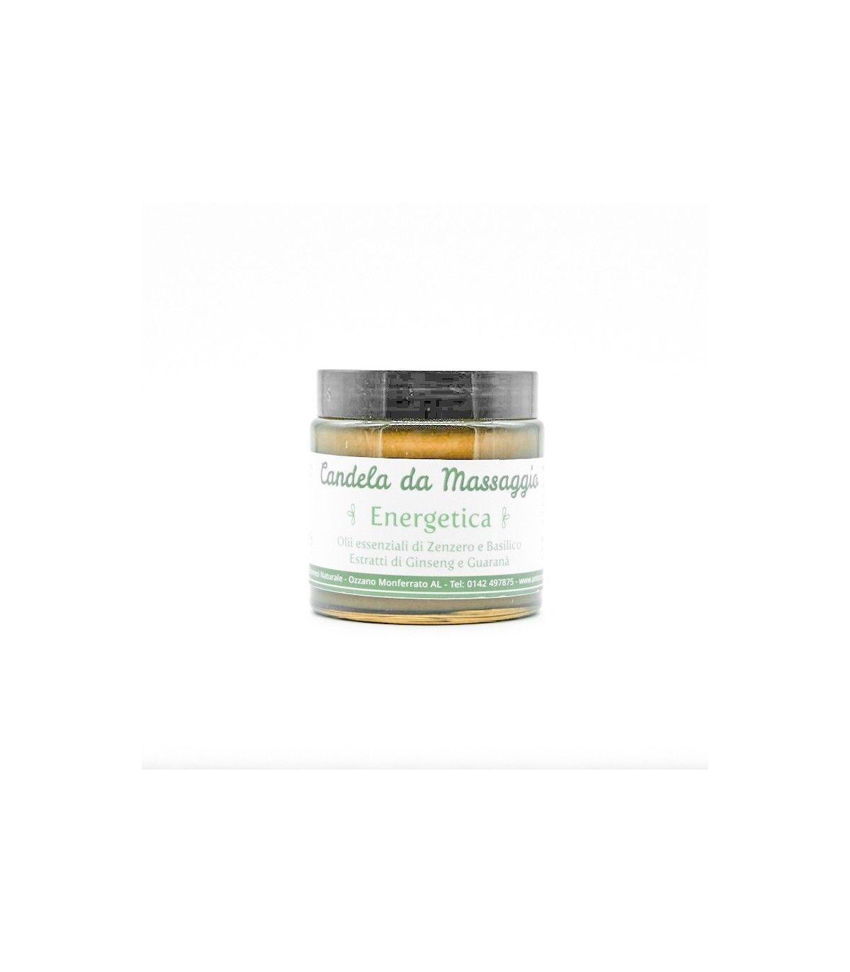 Burro corpo - candela da massaggio energetica ginseng e guaranà