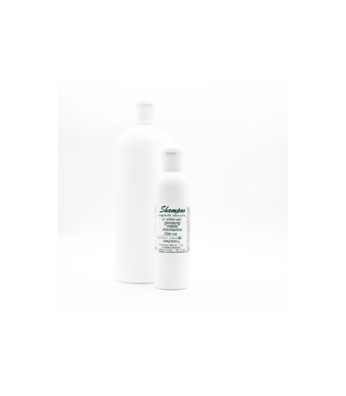 Shampoo per capelli secchi - litro