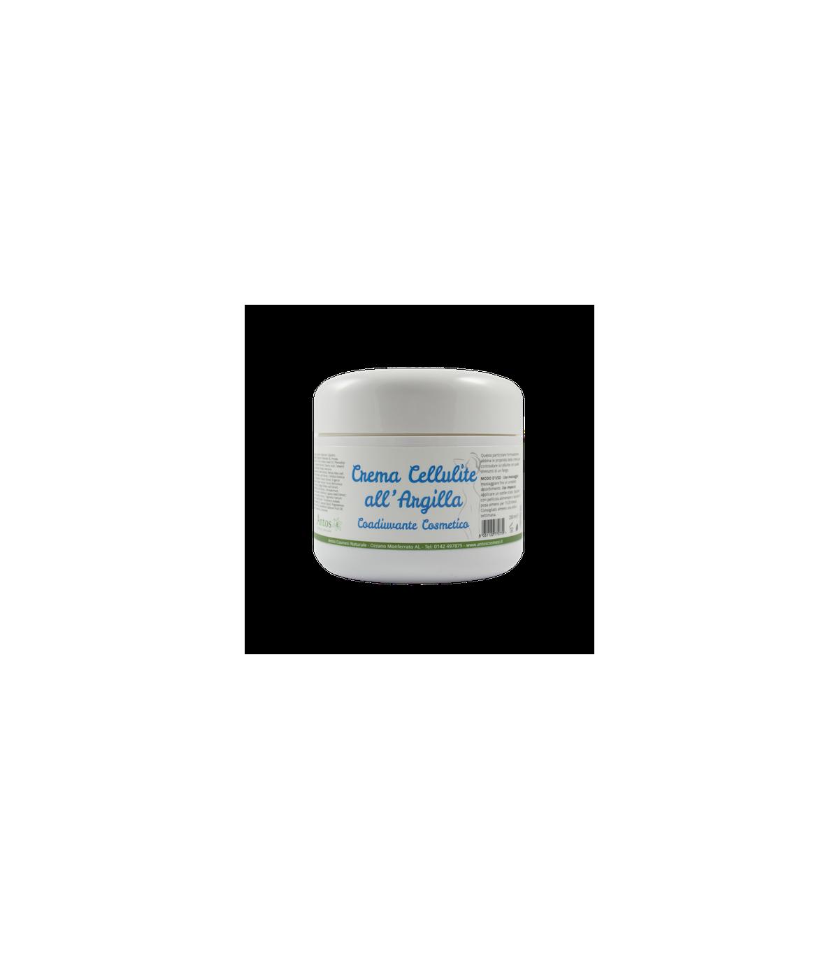 Crema cellulite all'argilla