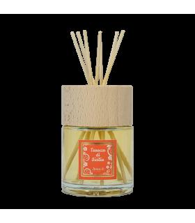 Profumatore per ambiente al tarocco di sicilia con bastoncini